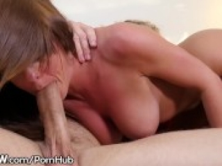 Rahyndee James Gets on Top and Rides Him Like Crazy